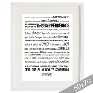 Manifiesto del viajero... XXL