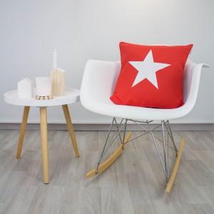 Funda cojín Estrella roja