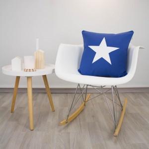 Funda de cojín Estrella azul klein