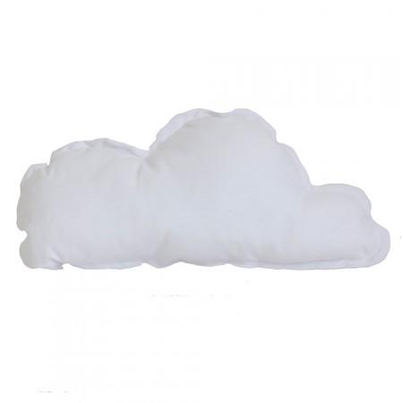 Funda cojín nube blanco