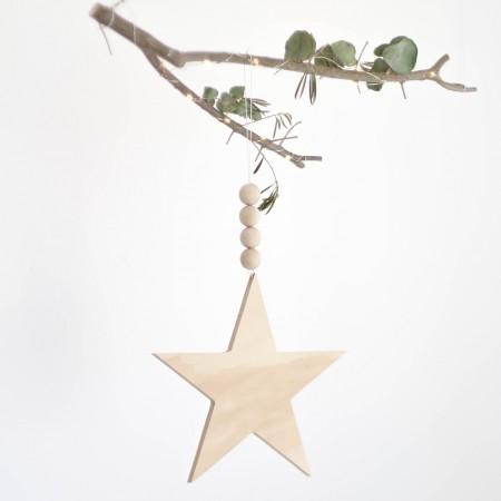 Estrella colgante nordic