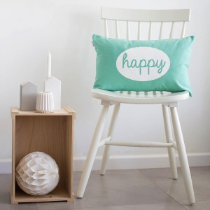 Mint happy cushion