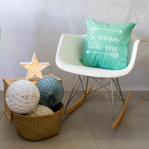 Mint brave cushion