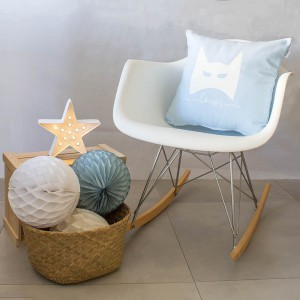 Baby blue Hero cushion