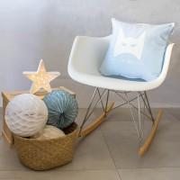Baby blue Hero cushion