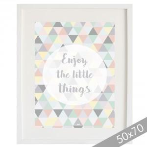 Lámina Enjoy the little things XXL
