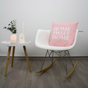 Pink Home Sweet Home cushion