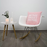 Pink Home Sweet Home cushion