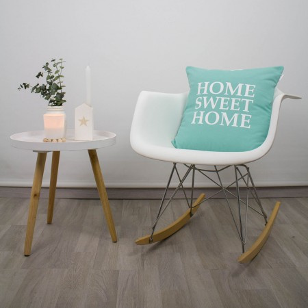 Mint Home Sweet Home cushion