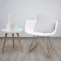 Grey Stripes cushion
