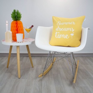 Yellow Dreams summer time cushion