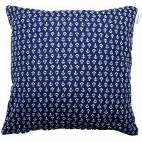 Blue anchors cushion 45x45