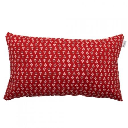 Red anchors cushion 30x50