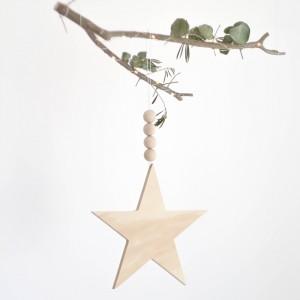 Estrella Nordic colgante