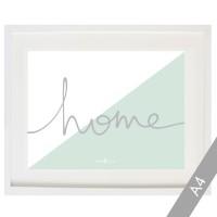 Cardboard Home bicolor in mint