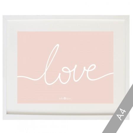 Cardboard Love in pink