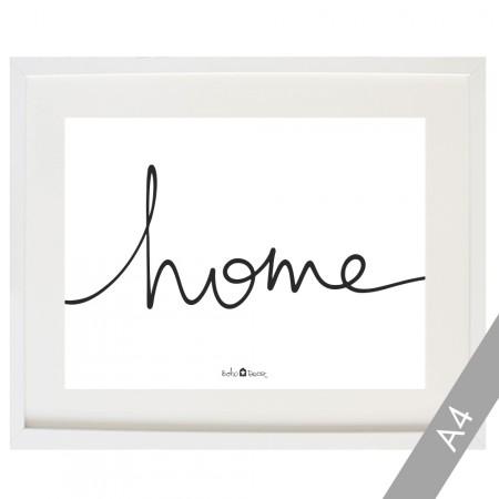 Cardboard Home in white