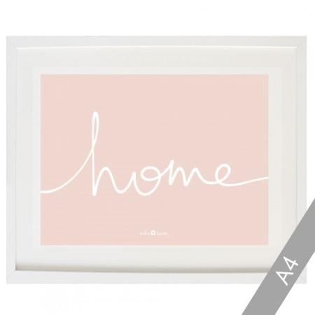 Cardboard Home in pink