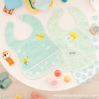Pack de 2 baberos mint - I´m a superstar