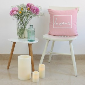 Pink Home design cushion
