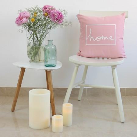 Funda cojín Home design Rosa
