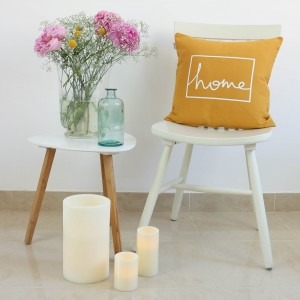 Mustard Home design cushion