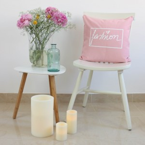 Pink Fashion design cushion
