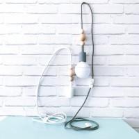 Cable de luz  nórdico con interruptor