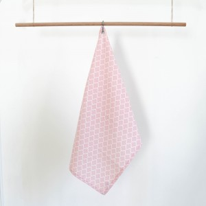 Pink quartz Kate dishcloth