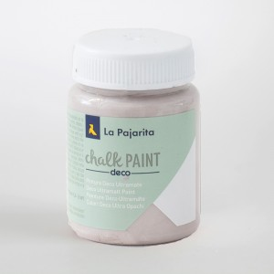 Grey paint pot