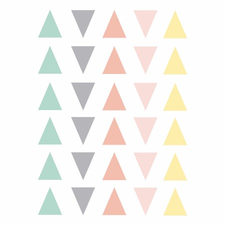 Vinilos pastel Triángulos
