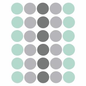 Dots vinyl in pastel
