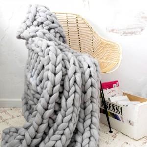 Grey XXL blanket
