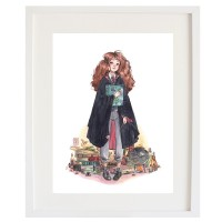 Lámina Hermione