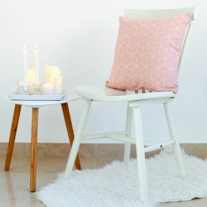 Pink Hygge cushion