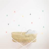 Pastel triangle vinyl