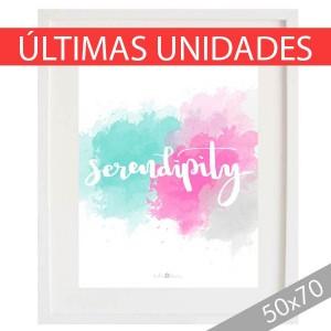 Lámina Serendipity acuarela XXL