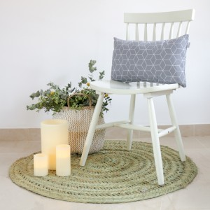 Grey Hygge cushion 30x50