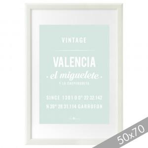 Lámina Valencia mint XXL