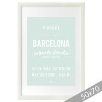 Mint Barcelona cardboard XXL