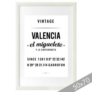 Lámina Valencia XXL