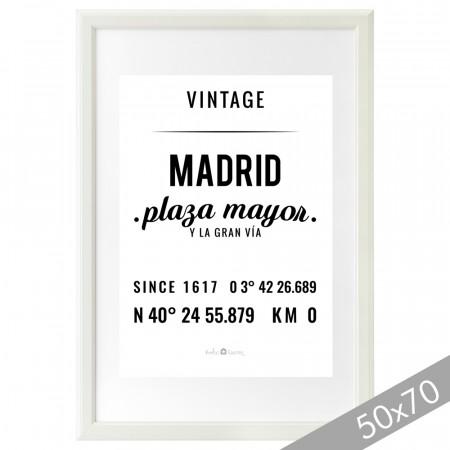 Lámina Madrid XXL