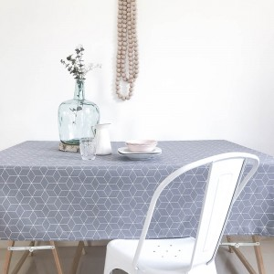 Grey Hygge tablecloth