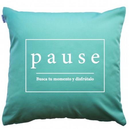 Funda de cojín Pause Mint