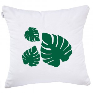 Leaf Tropical cushion