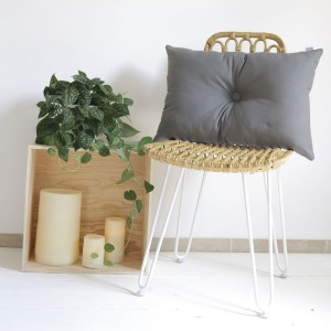 Grey Stockholm cushion