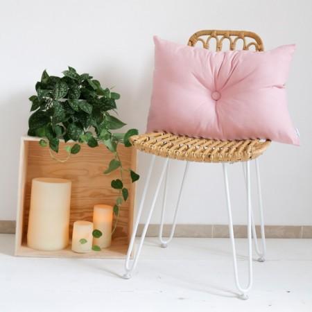 Cojín con relleno Estocolmo rosa