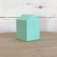 Small mint wooden house