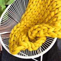 Mustard XXL blanket
