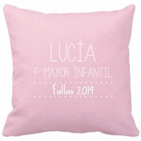 Filled customized FALLAS cushion